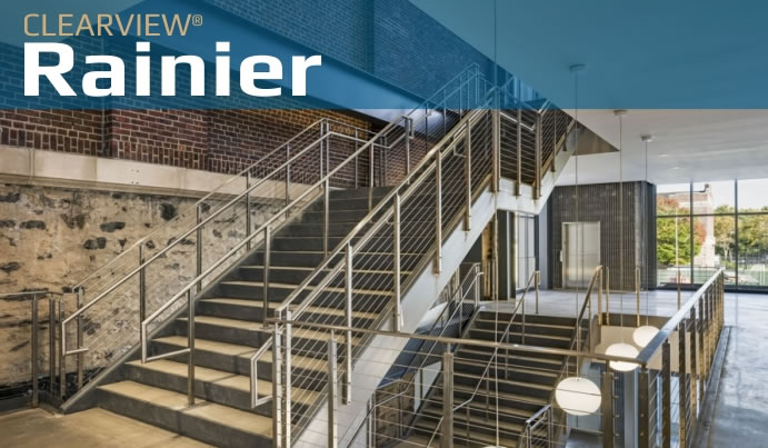 rainier stair cable railing system