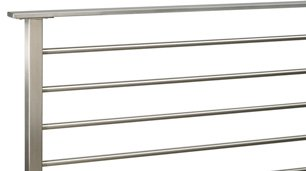 olympus horizontal stainless steel railing system
