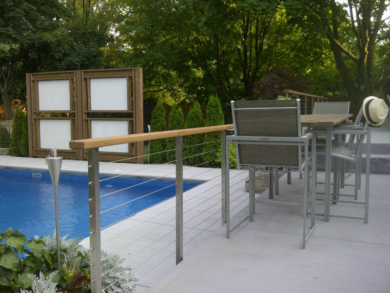 Customer Review Clearview 174 Cable Railing System With Wood