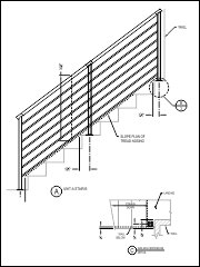 custom CAD for every railing system